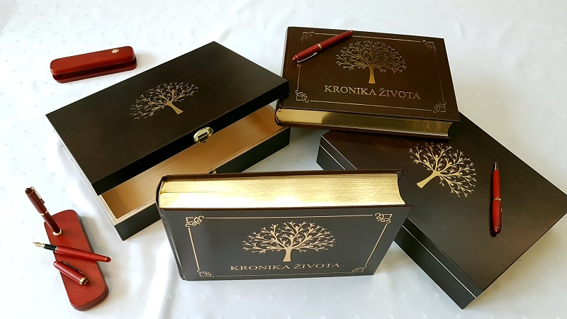 Kronika zivota Luxus Gold Set