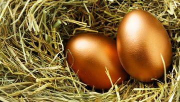 zlate vajcia
