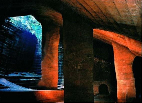 Je divné, že v Číne s 5 tisíc rokov starobylou kultúrou bolo tak významné stavebné dielo zabudnuté.