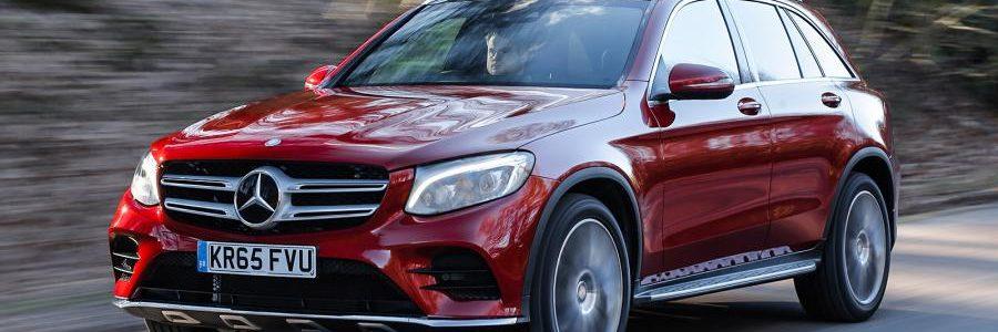 2. cena: Mercedes-Benz Triedy GLC na víkend s plnou nádržou