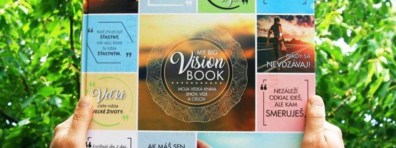 5. – 7. cena: 3x motivačná kniha MY BIG VISION BOOK – Moja veľká kniha snov, vízií a cieľov