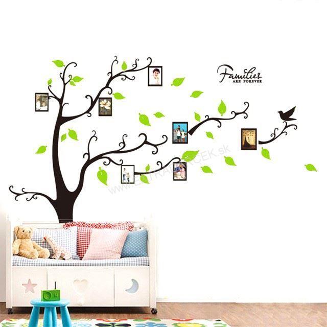8. cena: Strom života - nálepka na stenu na rodinné fotografie