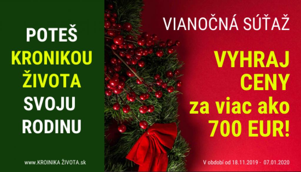 banner vianocna sutaz kronika zivota